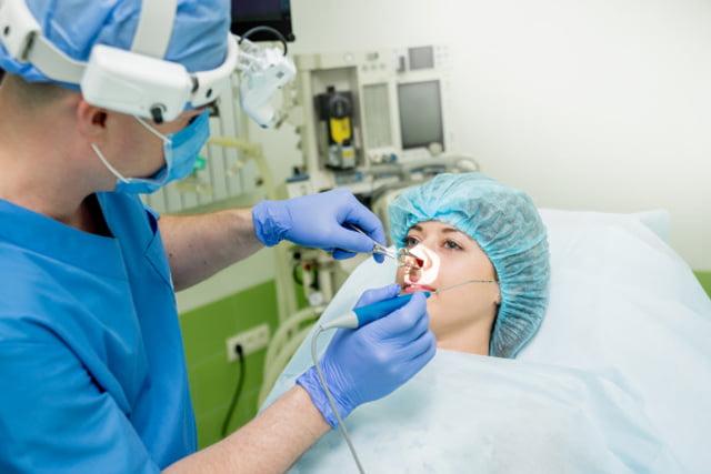 Cirugía láser de los cornetes